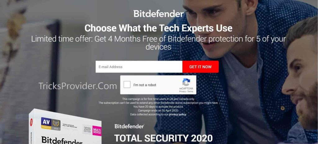 bitdefender total security free trial