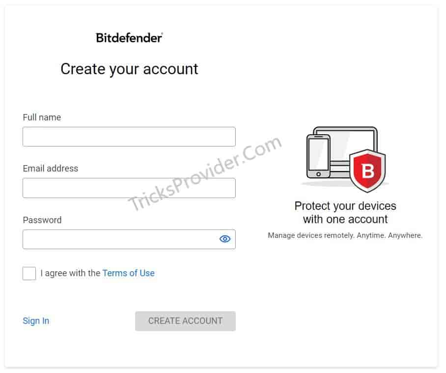 bitdefender total security signup